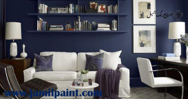 انتاخب رنگ برای دیوار پذیرایی